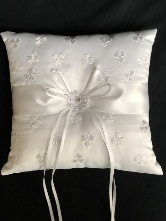 Irish Ring Bearer Pillow