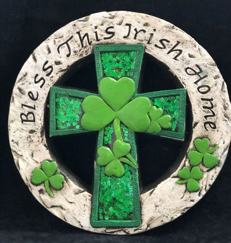 Bless this Irish Home Stepping Stone