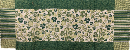 Shamrock Garden Tapestry Table Runner