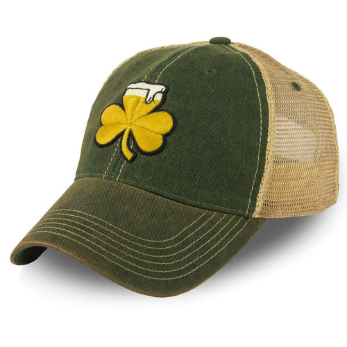 shamrock beer cap