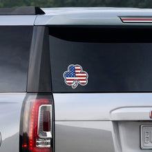 Shamrock Stars & Stripes Sticker