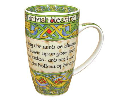 Royal Tara Celtic Irish Blessing Mug