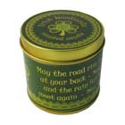 Irish Woodlands scented travel candle
