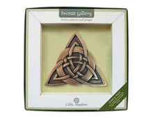 Bronze Gallery Trinity Knot Plaque