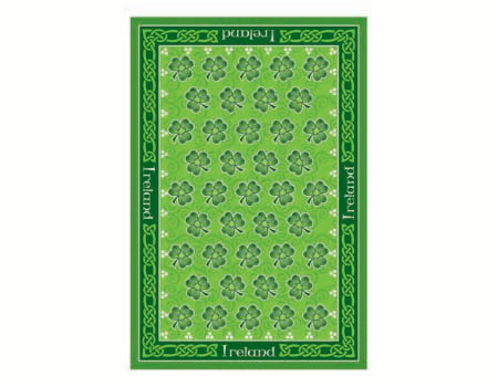 Shamrock Tea Towel