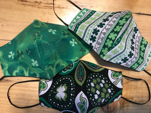Shamrock Facial Masks