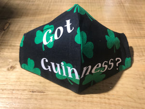 Very Funny Irish Facial Masks