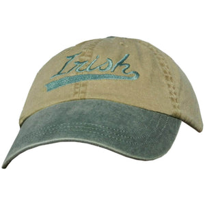 "Embroidered ""Irish"" Baseball Cap"