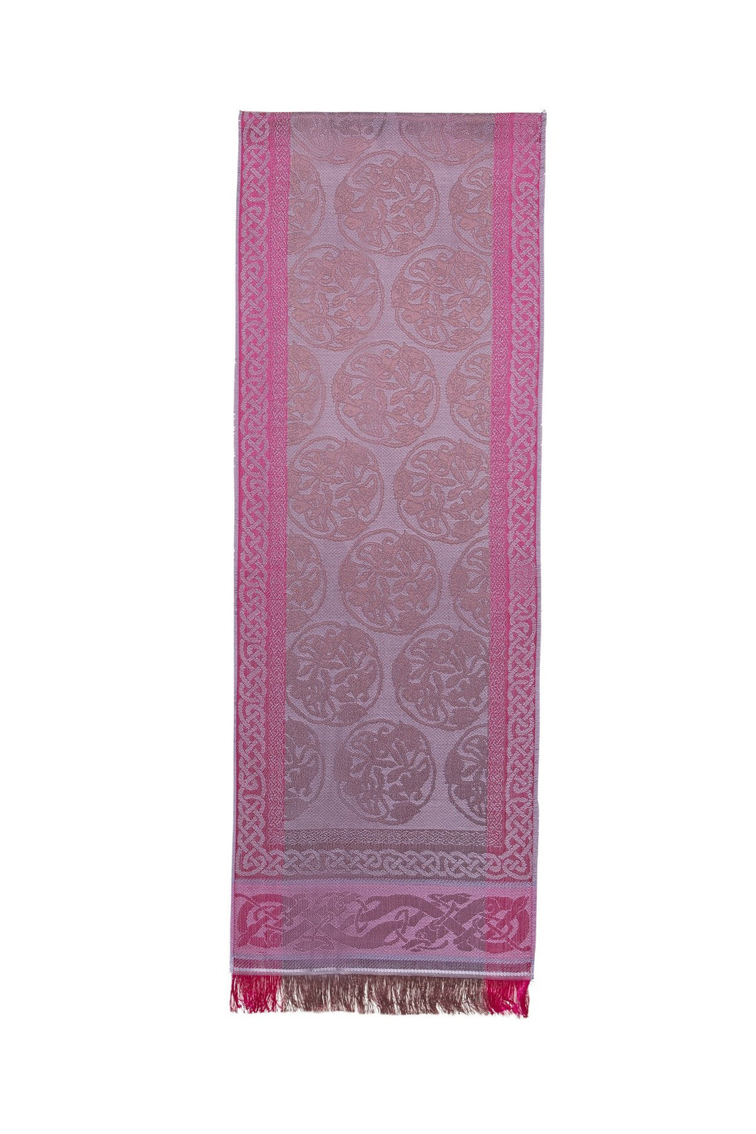 Jimmy Hourihan Scarf with Celtic Motif