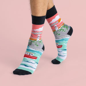 Lighthouse and Cliffs Socks