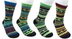 Shamrock Thick Cotton Knitted Crew Socks