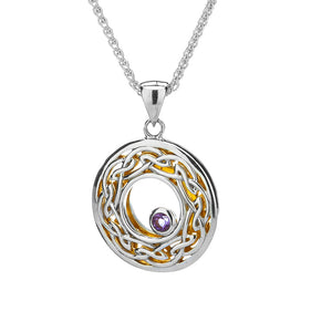 Window to the Soul Pendant with Amethyst