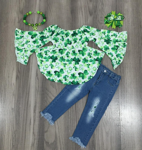 Complete Shamrock Kid's Outfit