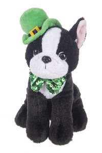 Plush Irish Dog