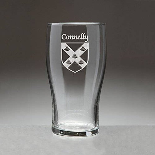 Personalized Coat of Arms Pint Glass