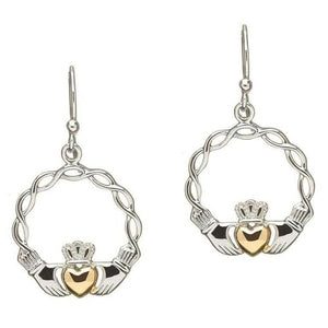Celtic Wave Claddagh Jewelry