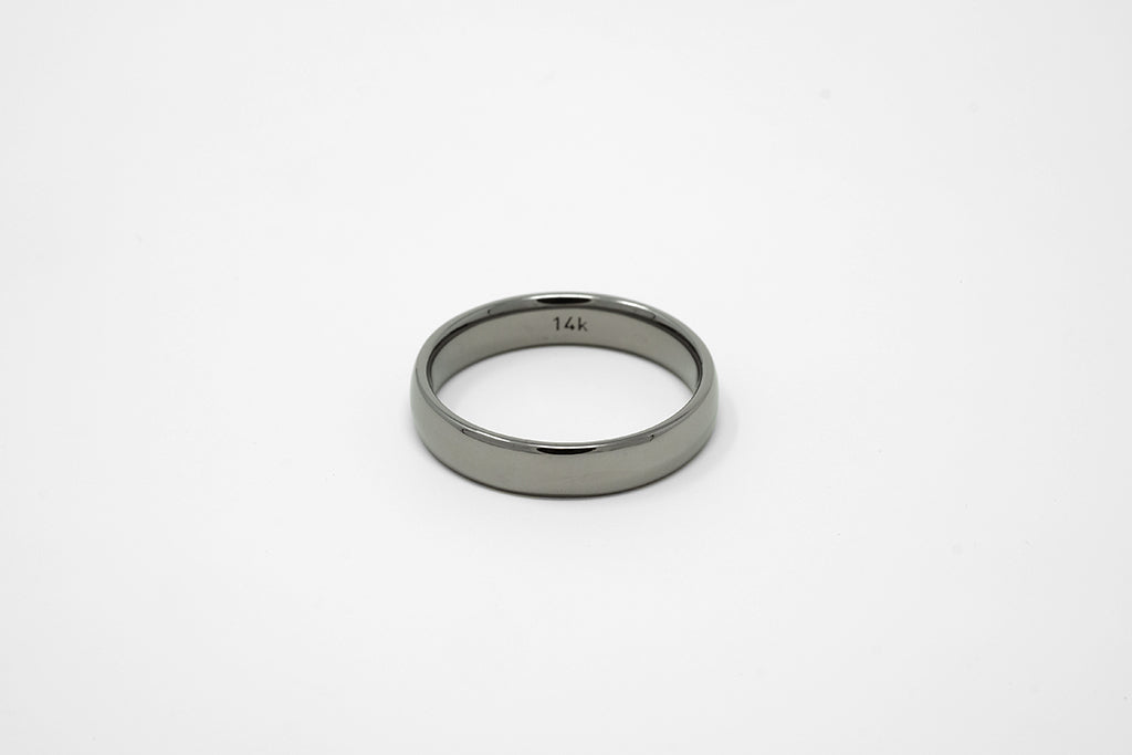 Black Rhodium Custom Wedding Ring