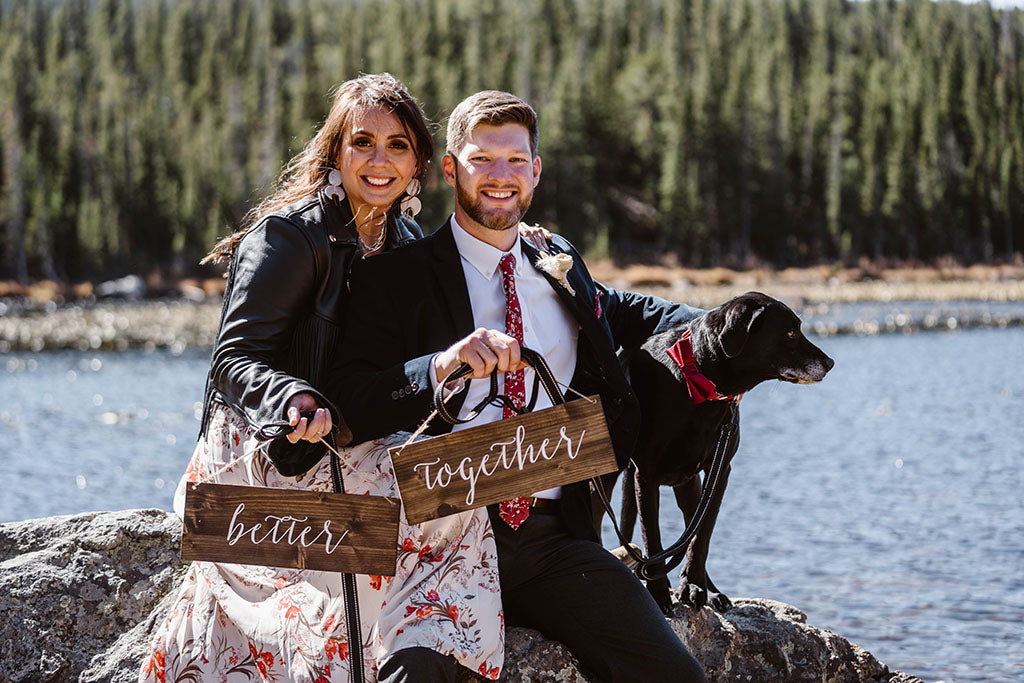 Sarah Andrew Colorado Elopement Mountaintop