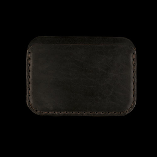 Round Wallet in Black