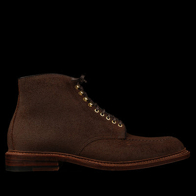 Alden - McCoppin Norwegian Front Boot in Reverse Tobacco Chamois 40207H