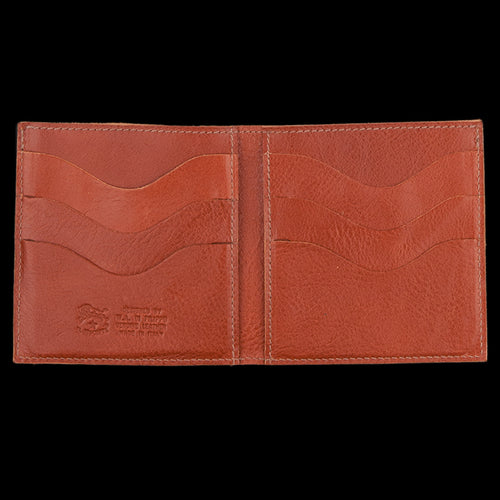 4x4 6 Slot Wallet in Cognac