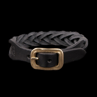 Il Bisonte - Braided Bracelet in Black