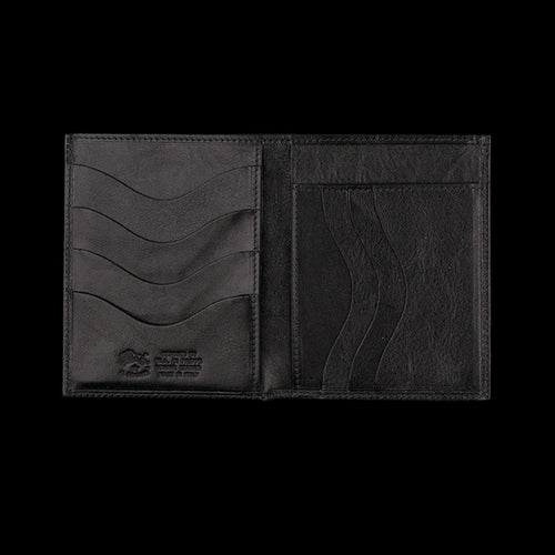 4x5 7 Slot Wallet in Black