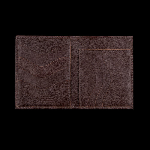 4x5 7 Slot Wallet in Dark Brown