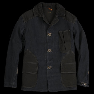 Kapital - Canvas Kendo Hunting Jacket in Indigo