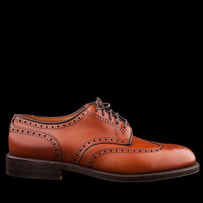 Alden - Wing Tip Blucher in Burnished Tan 966
