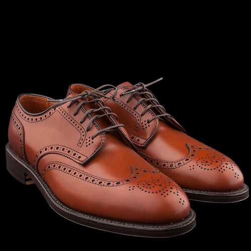 Wing Tip Blucher in Burnished Tan 966
