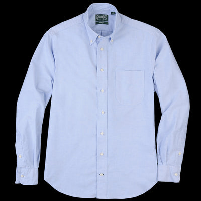 Gitman Vintage - Button Down Shirt in Blue Oxford