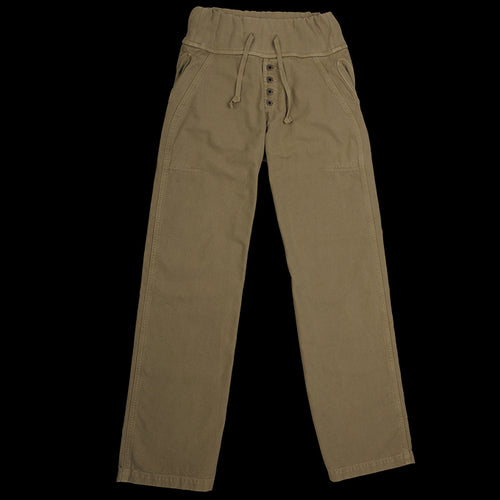 Canvas Nouvelle Pant in Khaki