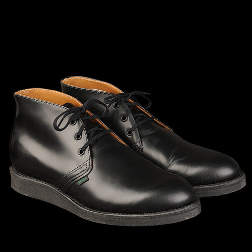Postman Chukka in Black Chaparral 9196