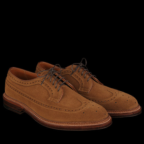 Long Wing Blucher in Snuff Suede 9794