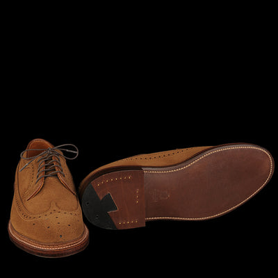 Alden - Long Wing Blucher in Snuff Suede 9794