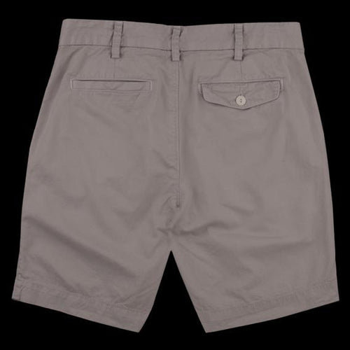 Light Twill Bermuda Short in Cement