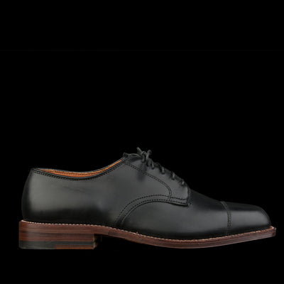 Alden - Courtland Cap Toe Dover in Black Chromexcel D5507