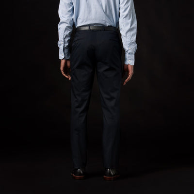 Gitman Vintage - Harrison Suit Pant in Dark Navy Twill