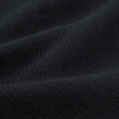Harley of Scotland for Unionmade - Geelong Turtleneck Sweater in Black