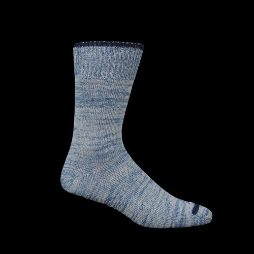 Top Stripe Sock in Denim