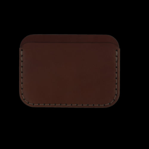 Cordovan Round Wallet in Natural