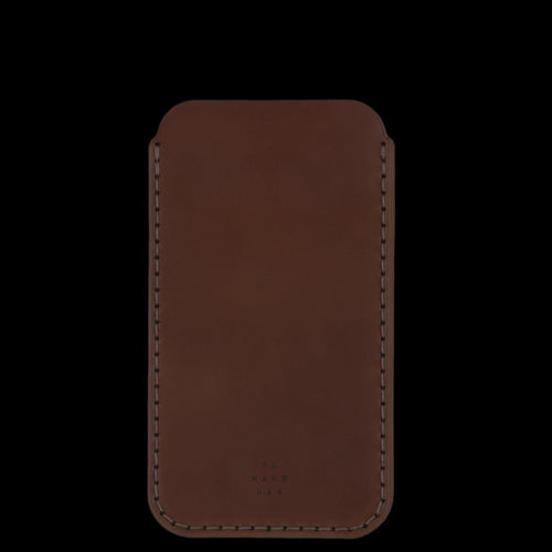 Cordovan iPhone 6 Plus Sleeve in Natural