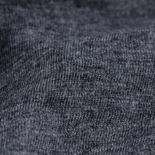 Heather Standard Short Sleeve Crew in Heather Charcoal