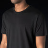Grei. - Hand Pigment Dyed Crew in Black