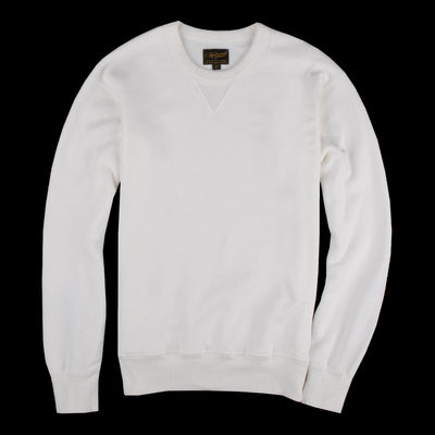 National Athletic Goods - 11oz Piece Dyed Terry Single V Warm up in Aged White