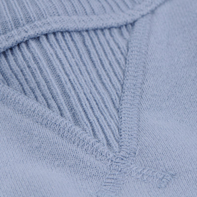 National Athletic Goods - 11oz Piece Dyed Terry Single V Warm up in Washed Blue