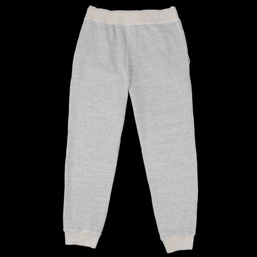 11oz Mock Twist Terry Gym Pant in Mid Grey