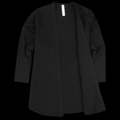 Prospective Flow - Haori Shirt in Black
