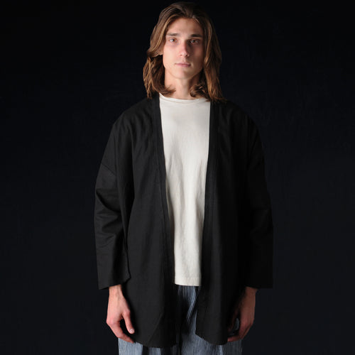 Haori Shirt in Black